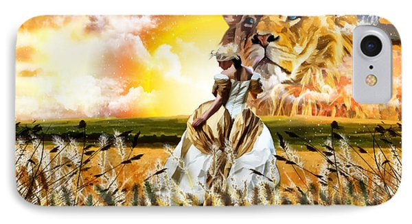 Kingdom Gold IPhone Case by Dolores Develde