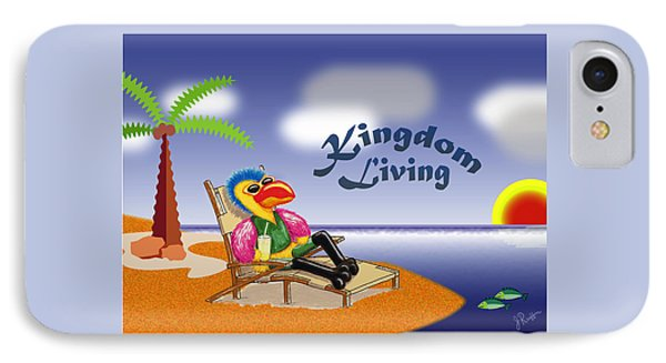 Kingdom Living IPhone Case by Jerry Ruffin