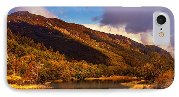 Kingdom Of Nature. Scotland Phone Case by Jenny Rainbow