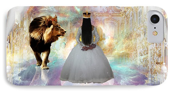 Kingdom Seer  IPhone Case by Dolores Develde