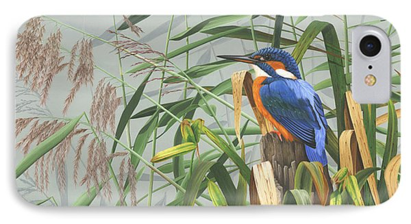 Kingfisher Phone Case by Clive Meredith