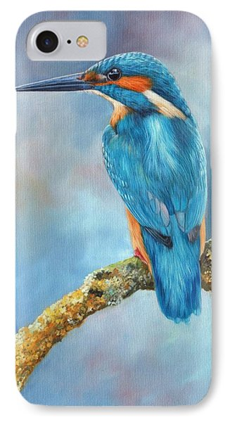 Kingfisher IPhone Case by David Stribbling