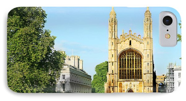 IPhone Case featuring the photograph King's College Chapel by Eden Baed