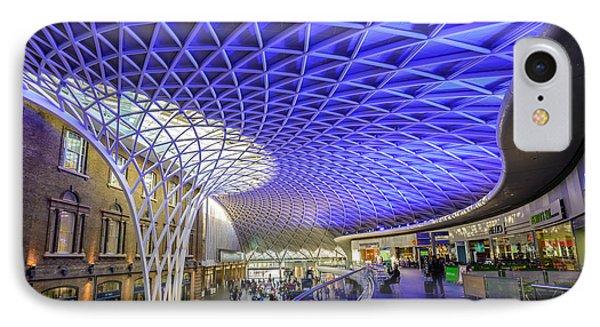 King's Cross Station IPhone Case by Matt Malloy