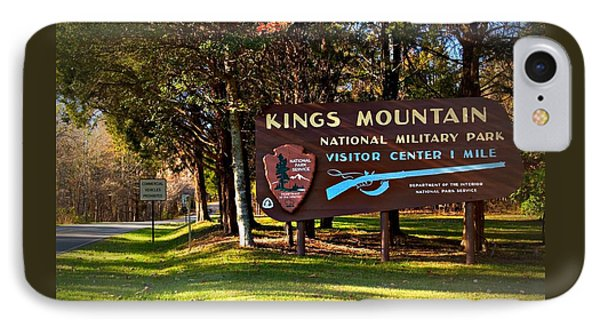 Kings Mountain National Military Park IPhone Case