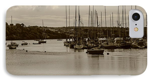 IPhone Case featuring the photograph Kinsale Harbor At Dusk by Winifred Butler