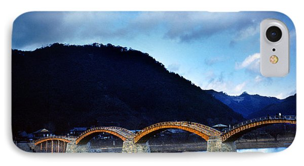 Kintai Bridge Japan IPhone Case by Wernher Krutein