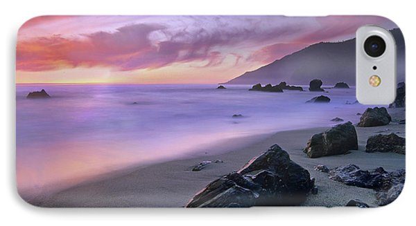Kirk Creek Beach, Big Sur, California IPhone Case