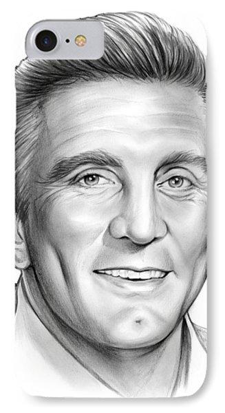 Kirk Douglas IPhone Case by Greg Joens