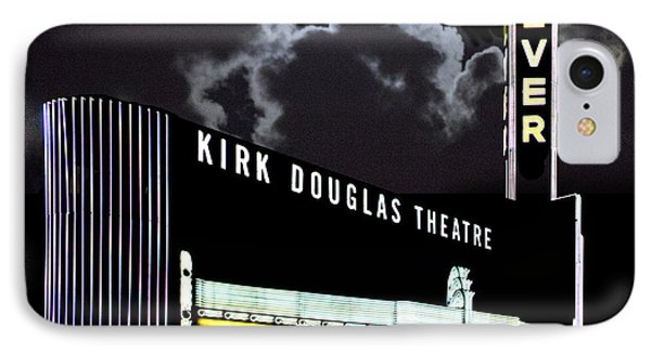 Kirk Douglas Theatre IPhone Case by Chuck Staley