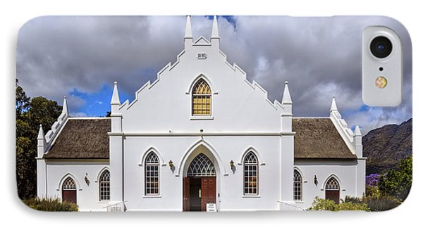 Kirstenbosch Church IPhone Case by Maria Coulson