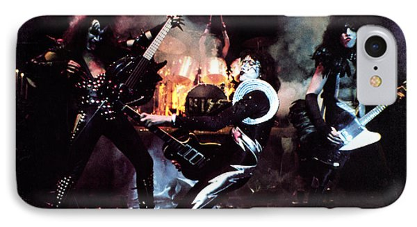 Kiss - Alive! IPhone Case by Epic Rights