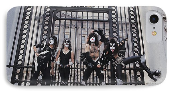 Kiss - Buckingham Palace IPhone Case by Epic Rights