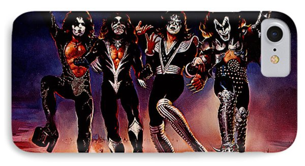 Kiss - Destroyer IPhone Case by Epic Rights