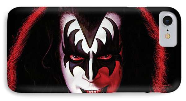 Kiss - Gene Simmons IPhone Case by Epic Rights