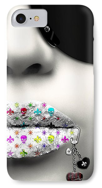 Kiss Me Silver IPhone Case