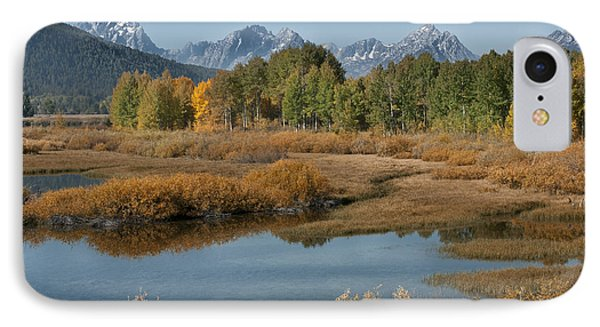 Kiss Of Fall In The Grand Tetons Phone Case by Sandra Bronstein
