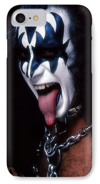 Kiss - The Demon IPhone Case by Epic Rights