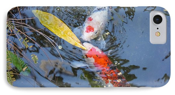 Kissin' Koi IPhone Case by HEVi FineArt