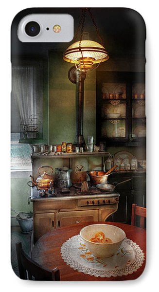Kitchen - 1908 Kitchen Phone Case by Mike Savad