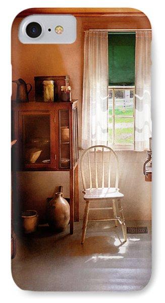 Kitchen - A Cottage Kitchen  Phone Case by Mike Savad
