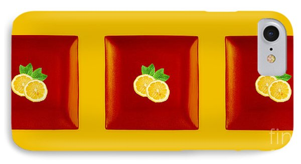 Kitchen Art - Citrus Lemon Phone Case by Aimelle ML