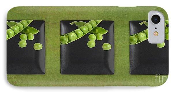 Kitchen Art - Peas - 02t01b Phone Case by Aimelle