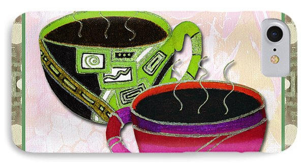 Kitchen Cuisine Rooibos Tea Party By Romi And Megan IPhone Case by Megan Duncanson