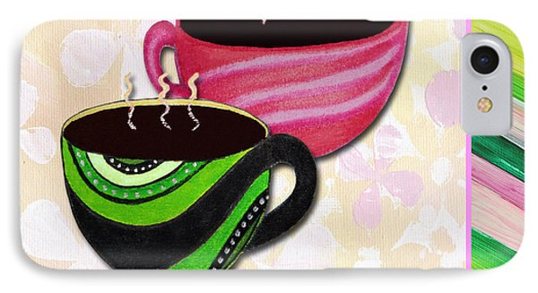 Kitchen Cuisine Tea Party Napkin Design 3 By Romi And Megan IPhone Case by Megan Duncanson