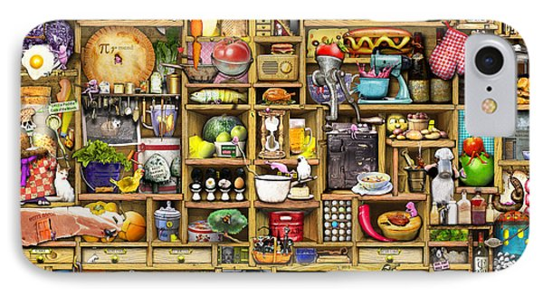 Kitchen Cupboard Phone Case by Colin Thompson