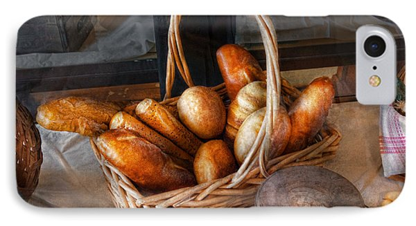 Kitchen - Food - Bread - Fresh Bread  Phone Case by Mike Savad