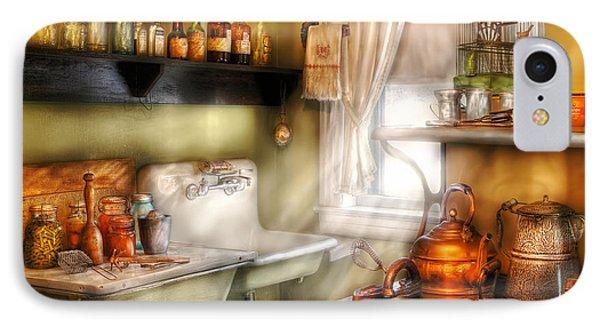 Kitchen - Momma's Kitchen  Phone Case by Mike Savad