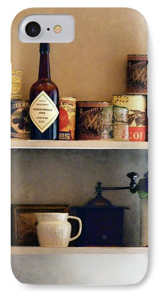 Kitchen Pantry Phone Case by Susan Savad