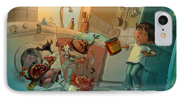Kitchen Pirates IPhone Case by Andy Catling