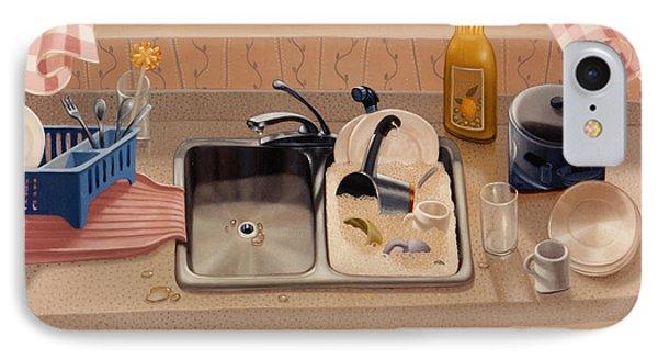 Kitchen Sink Bubba Lees 1997  Skewed Perspective Series 1991 - 2000 Phone Case by Larry Preston