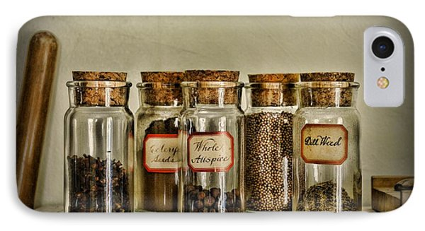 Kitchen Spices Colonial Era Phone Case by Paul Ward