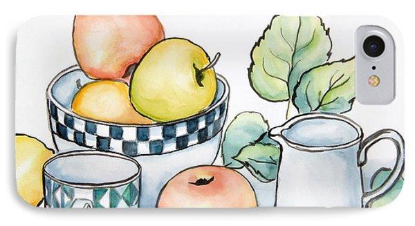 Kitchen Still Life Sketch IPhone Case