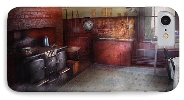 Kitchen - Storybook Cottage Kitchen Phone Case by Mike Savad