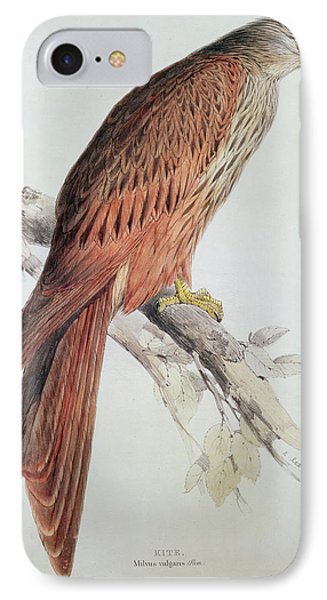 Kite Phone Case by Edward Lear