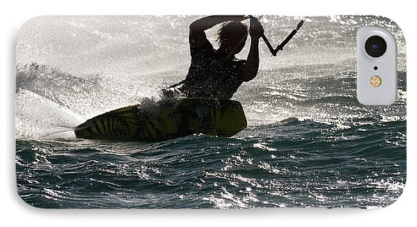 Kite Surfer 02 Phone Case by Rick Piper Photography