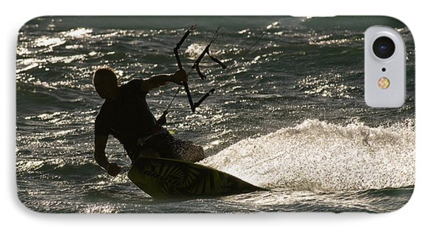 Kite Surfer 03 Phone Case by Rick Piper Photography