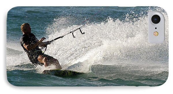 Kite Surfer 04 Phone Case by Rick Piper Photography