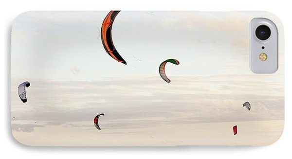 Kite Surfers IPhone Case by Ashley Cooper