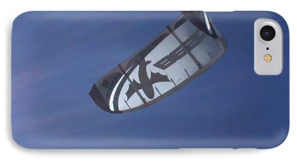 Kite Surfing 2 Phone Case by Heather L Wright
