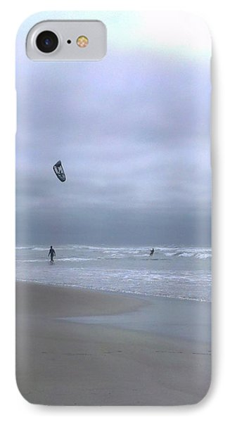 Kite Surfing IPhone Case by Heather L Wright