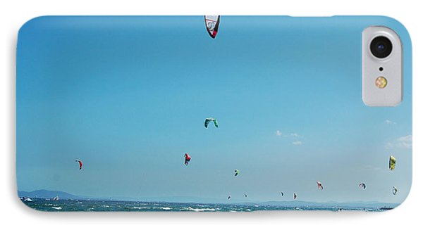 Kitesurf Lovers IPhone Case by Gina Dsgn