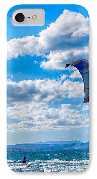 Kitesurfer IPhone Case