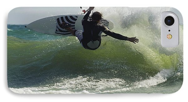 Kitesurfer Catching A Wave IPhone Case