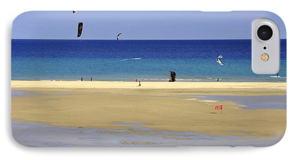 IPhone Case featuring the photograph Kitesurfing Spot And Beach View At Melia Gorionez  by Julis Simo