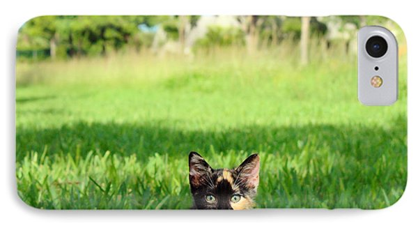 IPhone Case featuring the photograph Kitten by Carsten Reisinger